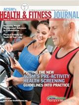 ACSM Health & Fitness Journal:May - June 2017 CEC Course Quiz Bundle